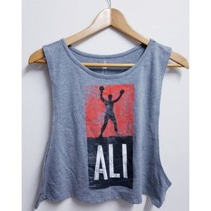 Forever 21 Muhammad Ali Athletic Top New